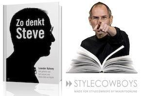 Boek: Zo denkt Steve door L.Kahney