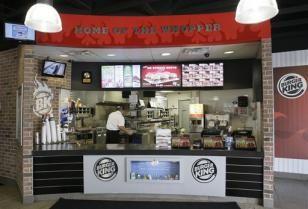 Burger King in een Nieuw Jasje