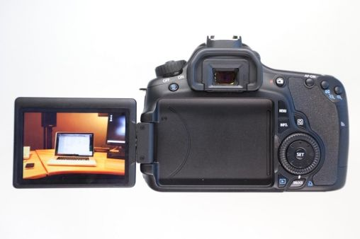Canon 60D LCD