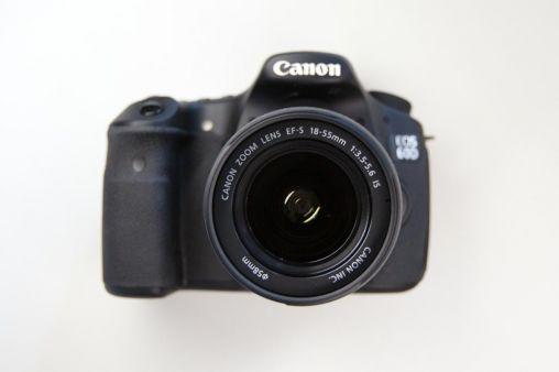 Canon 60D met kitlens