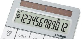 Canon Calculator X Mark I van Gerecycelde Lenzen