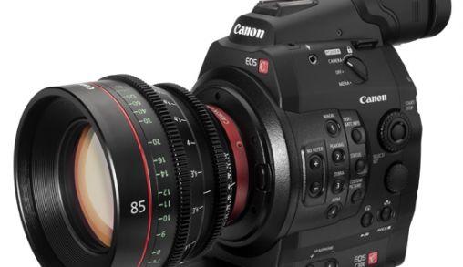 Canon showt de EOS C300