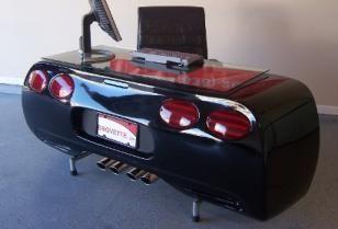 Corvette Bureau en BBQ