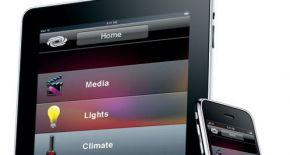 Crestron Domotica App voor iPad