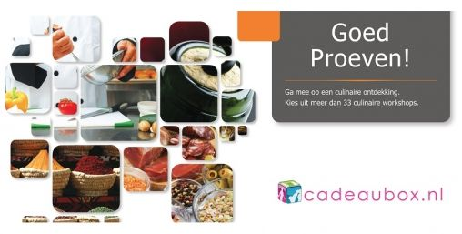 Culinaire Workshops in een Doosje