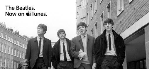 De Beatles nu in iTunes