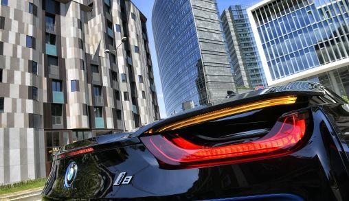De nieuwe BMW i8, design, snelheid en wow factor 10