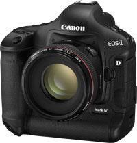 De nieuwe Canon EOS-1D MARK IV