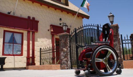 De Speedster een hippe, snelle rolstoel