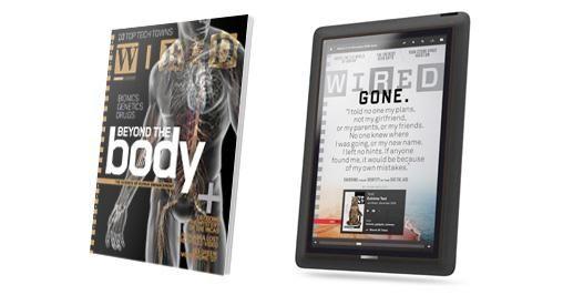 De transformatie van een tijdschrift beleving
