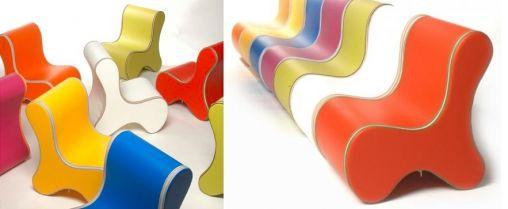 Design kinderstoel van Bone