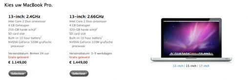 Donderdag misschien Nieuwe versie MacBook Pro (UPDATE)