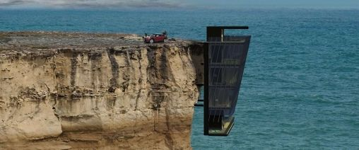 Droomhuis: villa gebouwd aan Australisch klif