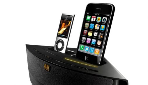 Dual audio dock van Altec Lansing