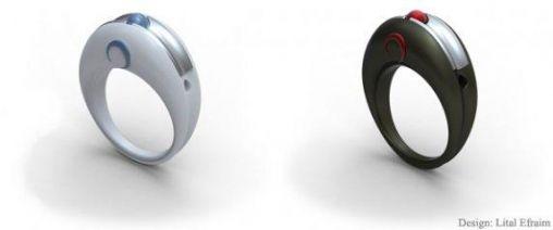 Een Muis-Ring voor touchscreens