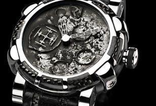 Eerbetoon aan de Maan met Moondust Horloge