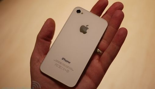Eerste Hands-on foto's iPhone 4