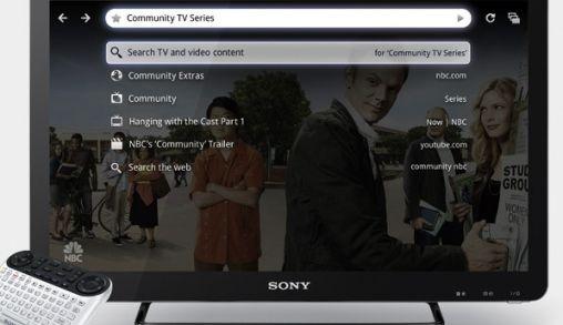 Eerste serie Sony internet TV's met Google TV