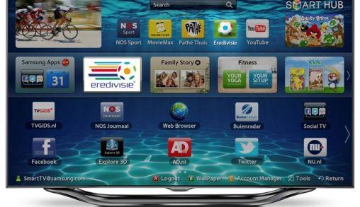 Eredivisie Live app op Samsung Smart TV