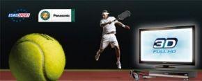 Eurosport en Panasonic brengen Roland Garros in 3D
