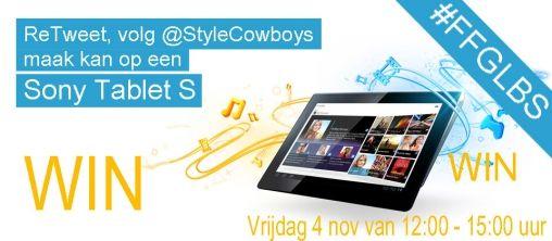 #FFGLBS RT dit bericht en maak kans op een Sony Tablet S