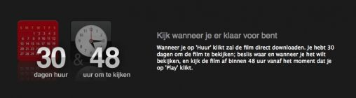 Films in Nederlandse iTunes Store