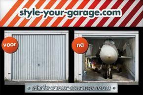 Foto-billboards voor garagedeuren