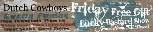 Friday Free Gift Lucky Bastard Show Win een HP Fotoprinter
