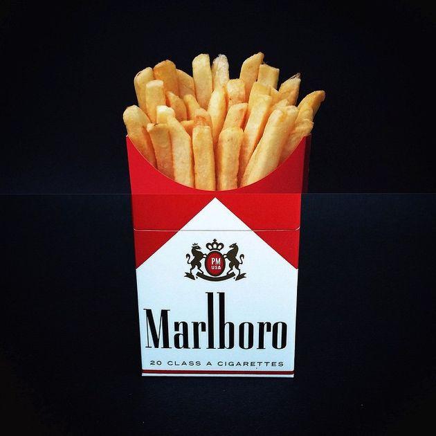 friet-sigaret