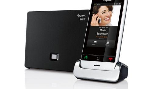 Gigaset komt met touchscreen handset