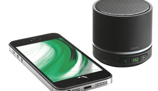Glashelder geluid voor respectabele prijs: Leitz Complete Mini-Speaker