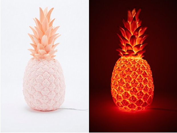Goodnight light Pineapple urban outfitters