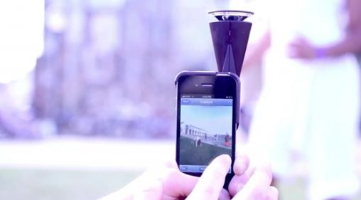 GoPano Micro: 360 graden video met iPhone 4