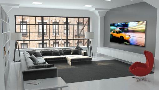 Grootste LED-TV ter wereld nu verkrijgbaar in Nederland
