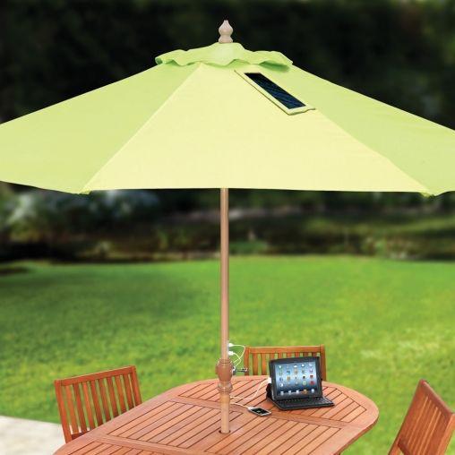 hammacher parasol