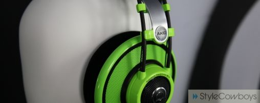 Hands-on AKG headphones by Quincy Jones