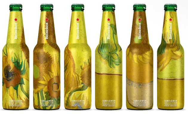 heineken-sunflower-collection