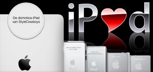 I Love My Domotica-iPad op Valentijnsdag