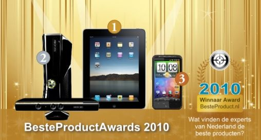 iPad als beste product 2010