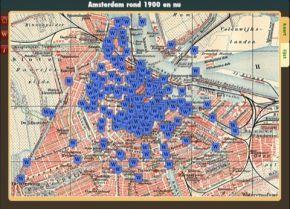 iPad app: Amsterdam rond 1900 en nu