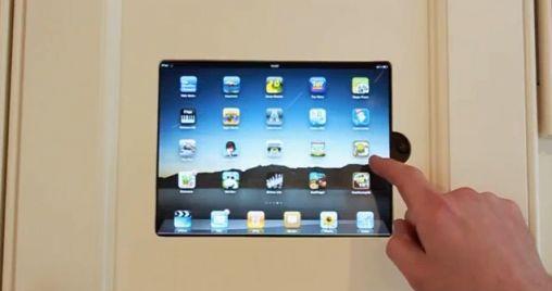 iPad Ingebouwd in Keuken