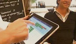 iPad om Bestellingen op te nemen in Restaurant