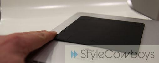 iPad ophangen met M-Duo Magneet van Ped Systems