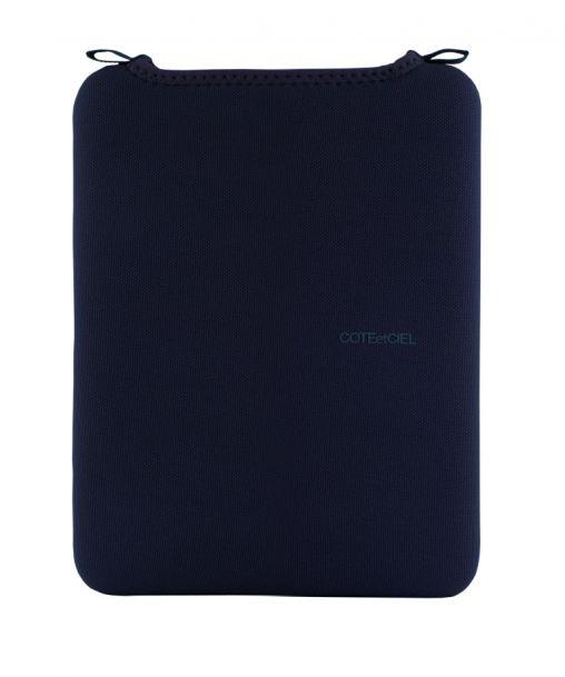 Ipad sleeve navy blue small