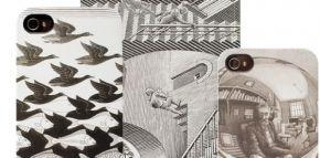 iPhone 4 hoes met prints van M.C. Escher