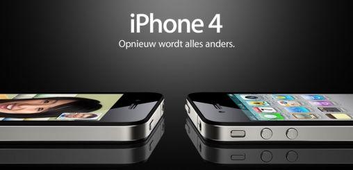 iPhone 4 in Nederland Officieel Aangekondigd Apple