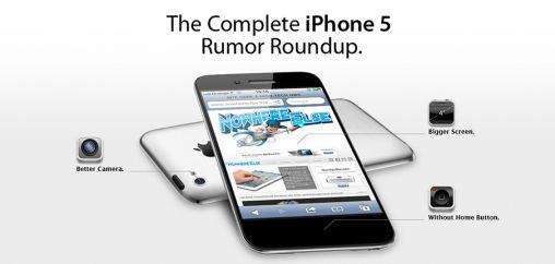 iPhone 5 geruchten op een rij