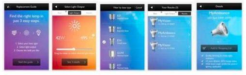 iPhone App Philips
