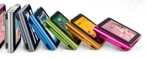 iPod Nano krijgt update met Multitouch