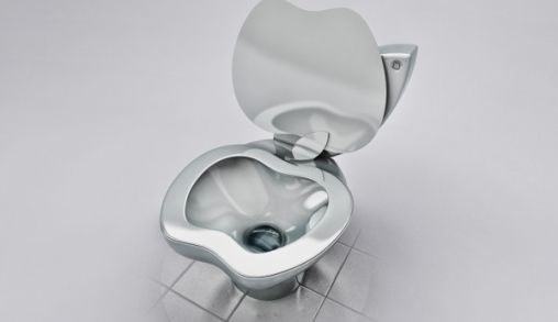 iPoo toilet voor de Apple Geek